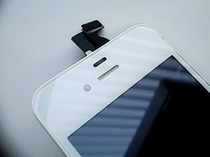 iPhone 4s LCD Display Einheit Weiß