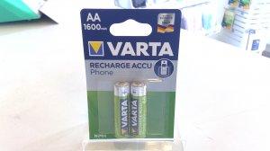 Varta AA Mignon Wiederaufladbare Akku Batterie