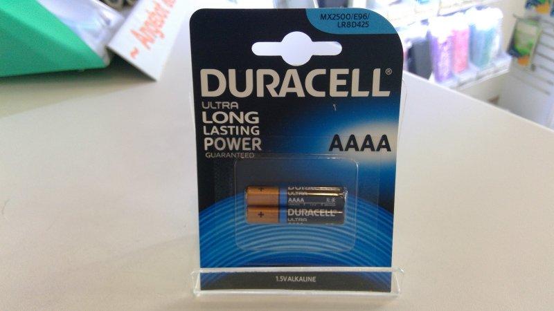 Duracell AAAA Batterien