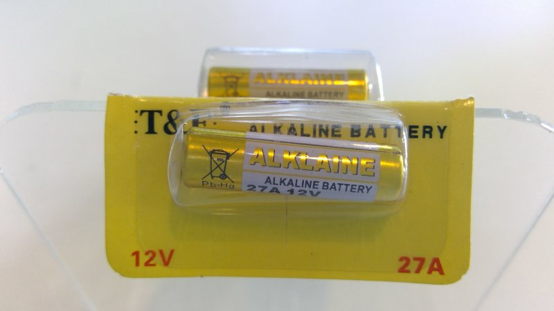 27A / 12V Batterie