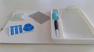 Samsung S8 / S9 UV Panzerglas, Flüssigkleber, Smart Repair