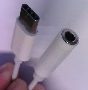 USB-C zu 3.5mm Klinke, Aux, Kopfhörerbuchse