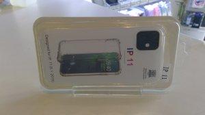 iPhone 11 Silikon Hülle mit Kantenschutz,.